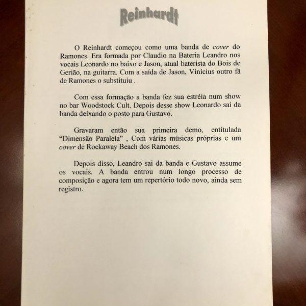 Press Release dos Schuzz como Reinhardt