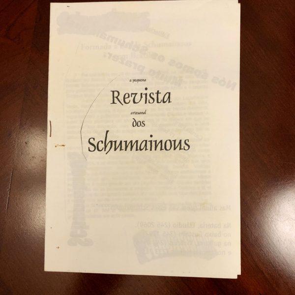 Press Release - Fanzine dos Schumainous